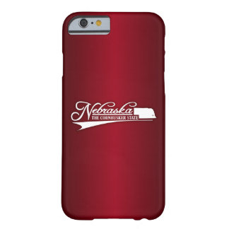 Nebraska State of Mine Barely There iPhone 6 Case