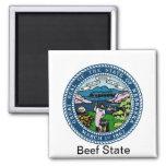 Nebraska State Seal and Motto Magnet