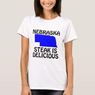 Nebraska - Steak Is Delicioius T-Shirt