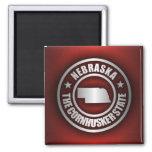 """Nebraska Steel 2"" Magnets"