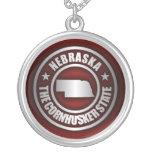 """Nebraska Steel 2"" Necklace"