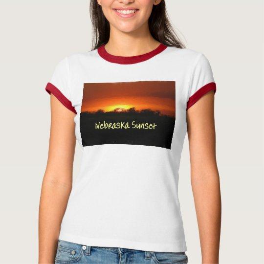 Nebraska Sunset T-Shirt