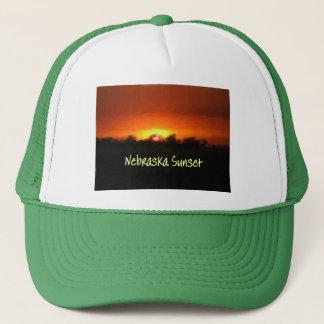 Nebraska Sunset Trucker Hat