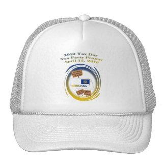 Nebraska Tax Day Tea Party Protest Mesh Hat
