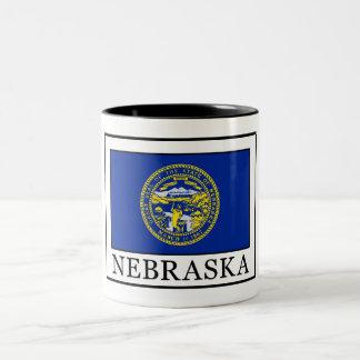 Nebraska Taza De Dos Tonos