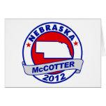 Nebraska Thad McCotter Greeting Card