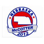 Nebraska Thad McCotter Postcard