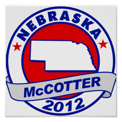 Nebraska Thad McCotter Print