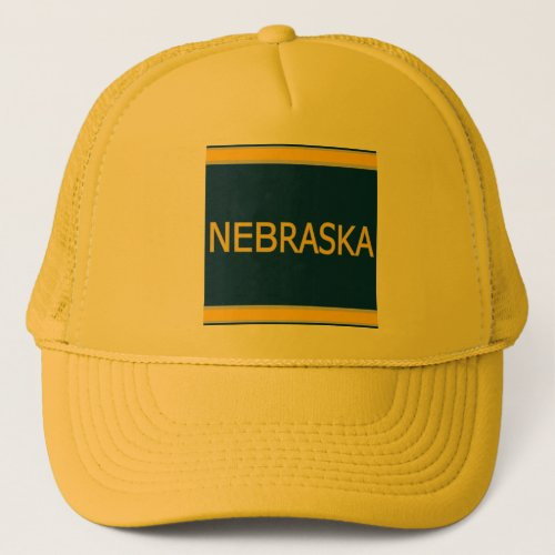 Nebraska Trucker Hat - Cap