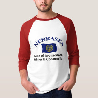 Nebraska Two Seasons T-Shirt