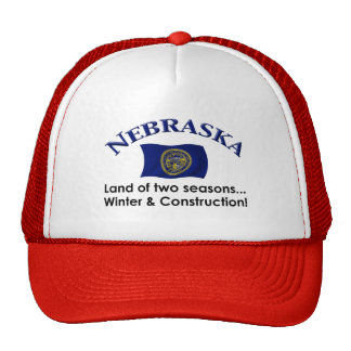 Nebraska Two Seasons Trucker Hat
