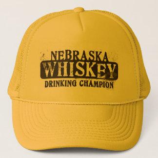 Nebraska Whiskey Drinking Champion Trucker Hat
