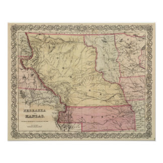 Nebraska y Kansas 3 Impresiones
