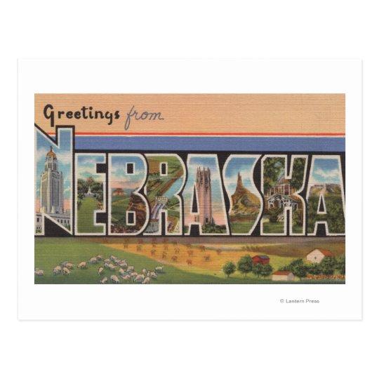 NebraskaLarge Letter ScenesNebraska Postcard