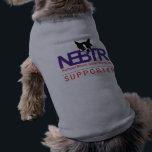 "NEBTR Dog Shirt<br><div class=""desc"">Dog shirt with NEBTR Logo.  Let your dog do the talking for you.  Your dog supports rescue,  and so do YOU!</div>"