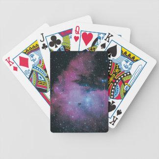 Nebula 3 bicycle playing cards