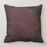 Nebula 8 throw pillow