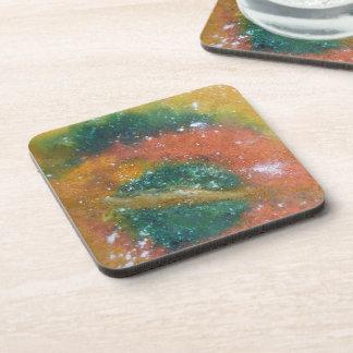 Nebula and Planets. Beverage Coaster