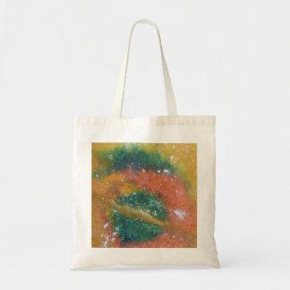 Nebula and Planets. Budget Tote Bag