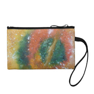 Nebula and Planets. Coin Purse