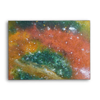 Nebula and Planets. Envelope