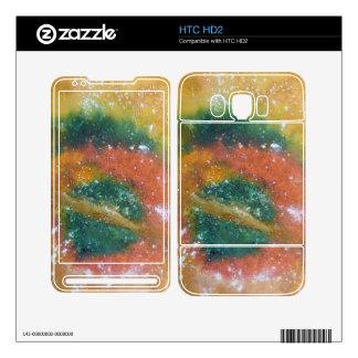 Nebula and Planets. HTC HD2 Skins