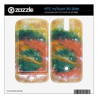 Nebula and Planets. HTC myTouch 3G Slide Skin