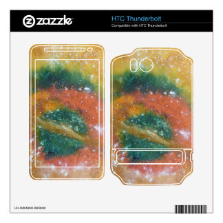 Nebula and Planets. HTC Thunderbolt Decal