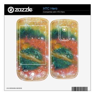 Nebula and Planets. Decal For The HTC Hero