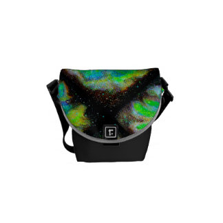 Nebula and Space Dust Messenger Bag