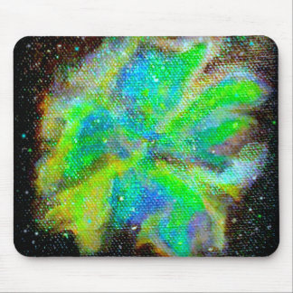 Nebula and Stardust Cosmic Space Scene Mouse Pad