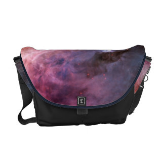 Nebula bright stars galaxy hipster geek cool space courier bags