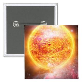 Nebula Burning Brightly Pin
