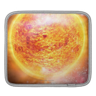 Nebula Burning Brightly iPad Sleeve