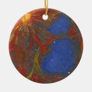 Nebula Ceramic Ornament