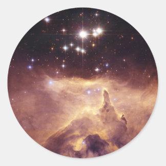 Nebula Classic Round Sticker