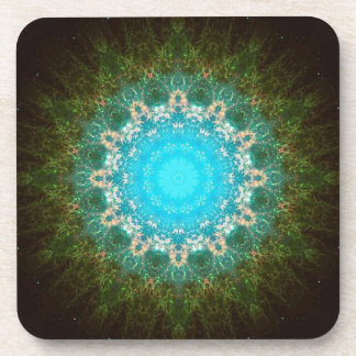 Nebula, cluster, Space, Stars, galaxy, Astronomy Drink Coaster