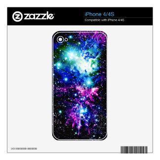 Nebula Decal For iPhone 4