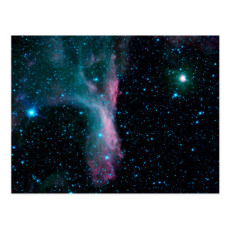 Nebula DG129 (Scorpius) Postcard