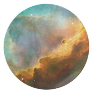 Nebula dinner plates