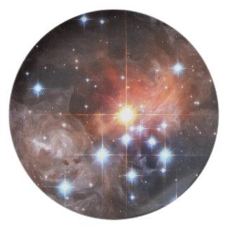 Nebula dinner party plate