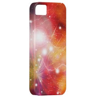 Nebula Fire Galaxy in Outer Space iPhone 5 Covers