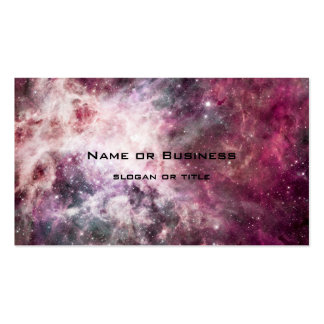 Nebula Formation in Outer Space Double-Sided Standard Business Cards (Pack Of 100)