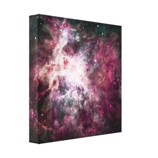 Nebula Formation in Outer Space Canvas Print