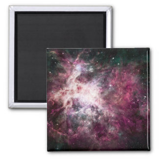 Nebula Formation in Outer Space Magnet