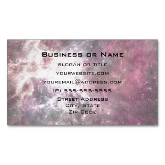 Nebula Formation in Outer Space Magnetic Business Cards (Pack Of 25)