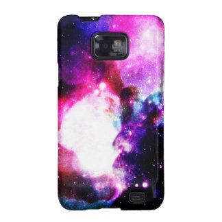 Nebula Galaxy Pink Purple Blue Samsung Galaxy S2 Covers