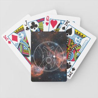"""Nebula """"Hello, Sweetie!"""" Playing Cards"""