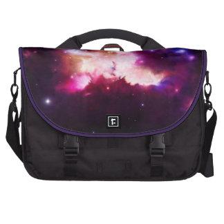 Nebula illustration laptop computer bag