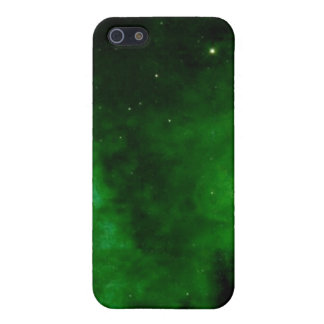 Nebula in Alien Green iPhone 4 case